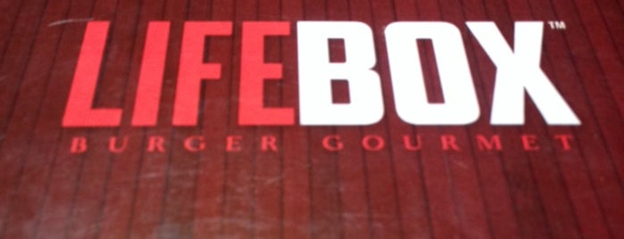 LifeBox Burger Gourmet is one of visitar.