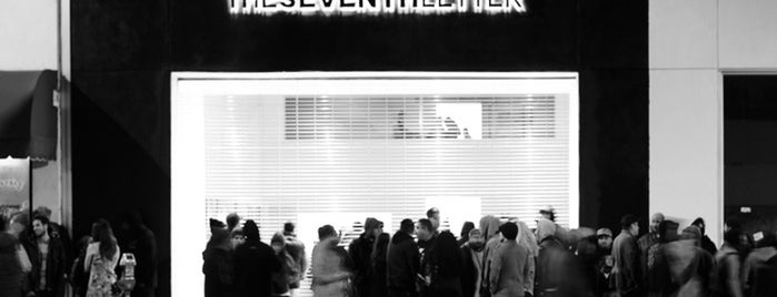 The Seventh Letter Flagship and Gallery is one of Los angeles.