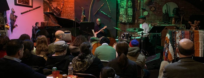 Alice's Jazz and Cultural Society is one of 111 Places Tips.