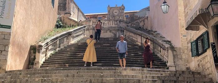 Jesuit Stairs is one of Dubrovnik & Mykonos.
