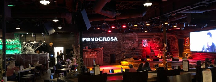 Ponderosa is one of Oregon's Music Venues.