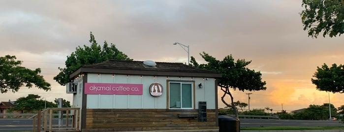 Akamai Coffee is one of Maui.