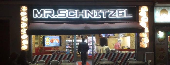 mr. schnitzel is one of Vienna.