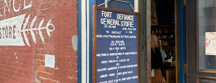 Fort Defiance General Store is one of Brooklyn.