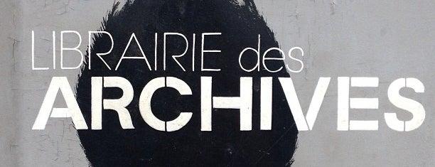 Librairie des Archives is one of Paris, je t'aime.