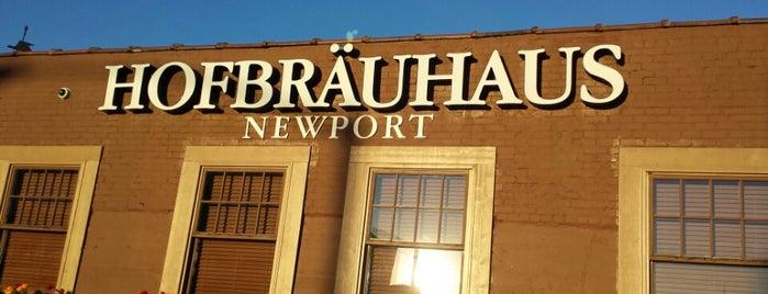 Hofbräuhaus Newport is one of Cincy's Best - Breweries.