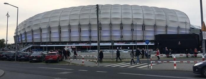 Stadion Miejski is one of Tempat yang Disukai Jus.