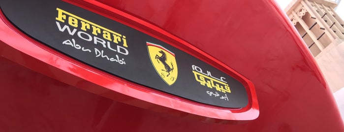 Ferrari World Abu Dhabi is one of Tempat yang Disukai Jus.