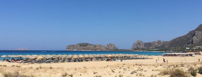 Falasarna Beach is one of Tempat yang Disukai Jus.