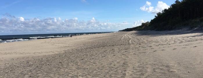Plaża Niechorze is one of Tempat yang Disukai Jus.