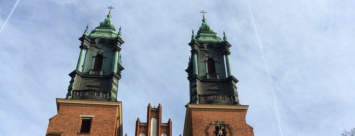 Bazylika Archikatedralna Św. Apostołów Piotra i Pawła (Katedra Poznańska) is one of Tempat yang Disukai Jus.