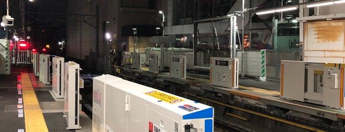 Ōimachi Line Jiyūgaoka Station (OM10) is one of Lieux qui ont plu à まるめん@下級底辺SOCIO.