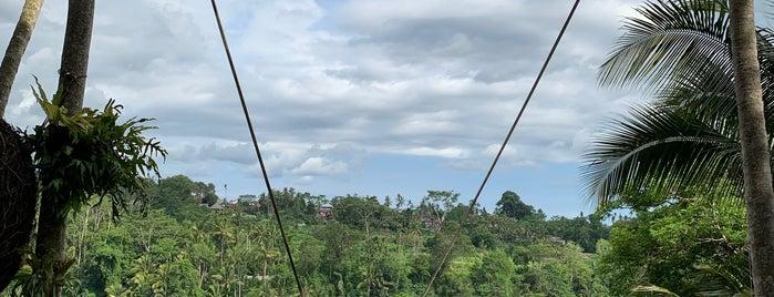 Gorge Bali Swing is one of Lieux sauvegardés par Lam.