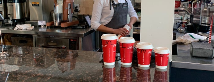 Cafe Artigiano is one of Calgary's Third-Wave Coffeehouses.