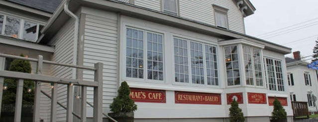 Mae's Cafe & Bakery is one of Maine.