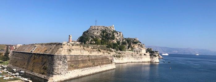 Old Fortress Of Corfu Town is one of Corfu, Greece.