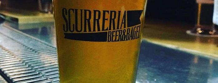 Scurreria Beer and Bagel is one of Gespeicherte Orte von Lia.