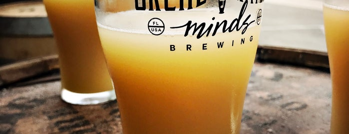 Orchestrated Minds Brewing is one of Ft laud drinks.