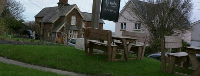 The Treby Arms is one of Michelin.