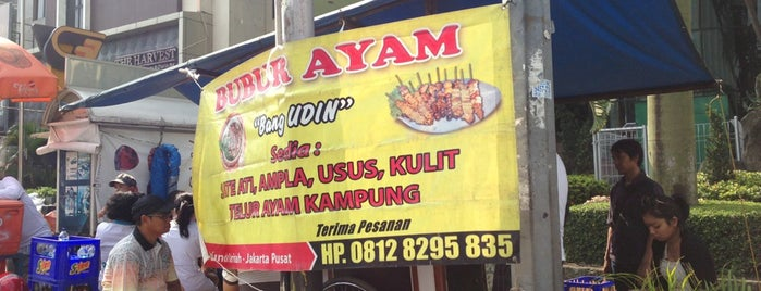 Bubur Ayam Udin is one of Cafe Favorit Teman2ku.