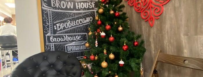 "Студия Дизайна Бровей ""Brow House"" is one of Lugares favoritos de Anastasia."