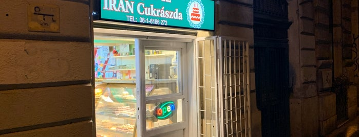 Iran cukrászda is one of Coffee / pastry / sweets.