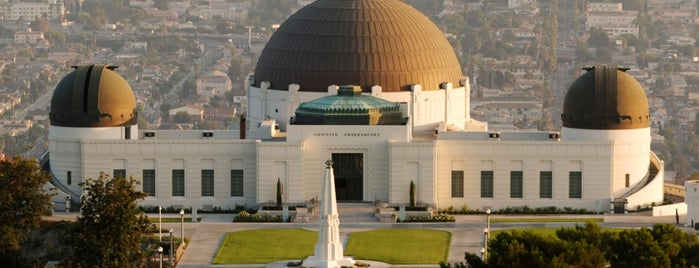 Griffith Observatory is one of LALA LAND.
