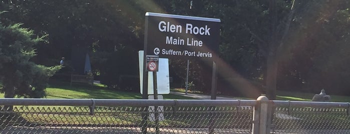 NJT - Glen Rock Main Line Station (MBPJ) is one of New Jersey Transit Train Stations.