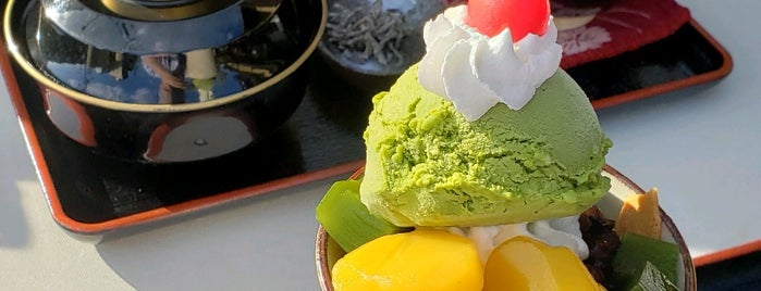 七條甘春堂 且坐喫茶 is one of Kyoto.