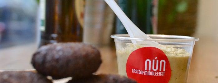 Nun - tasteofmiddleeast is one of Ristoranti etnici vegan-friendly a Milano.