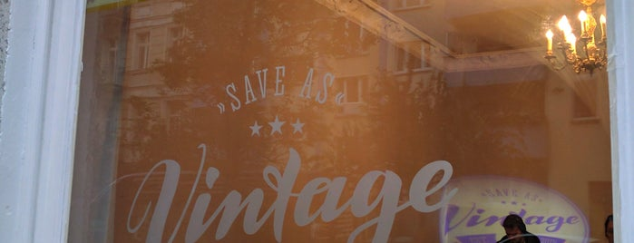 Save As Vintage is one of To do Shopping.