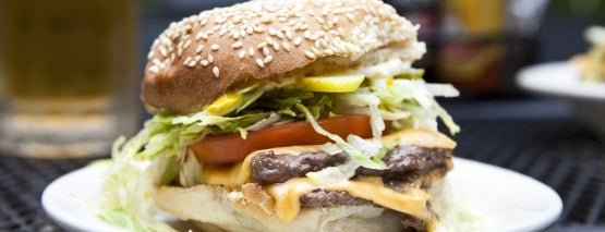 The Dram Shop is one of NY Best Burgers (Readers Choice + Critic Picks).