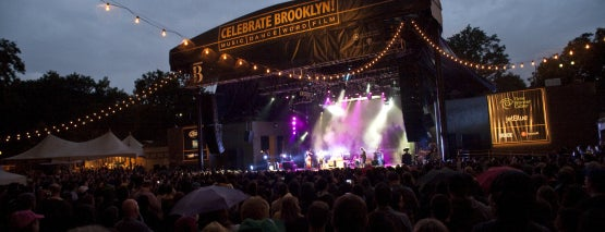 Prospect Park Bandshell / Celebrate Brooklyn! is one of The Best Concert Venues in New York.