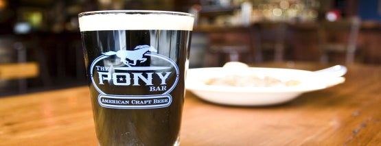 The Pony Bar is one of New York, NY.