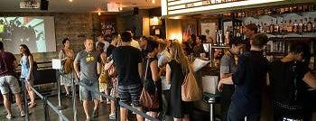 Nitehawk Cinema is one of best bars open on christmas.