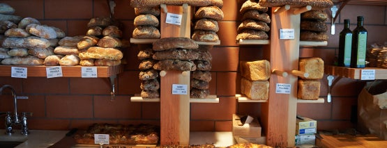 Sullivan Street Bakery is one of NY.