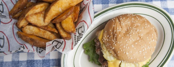 Bill's Bar & Burger is one of NY Best Burgers (Readers Choice + Critic Picks).