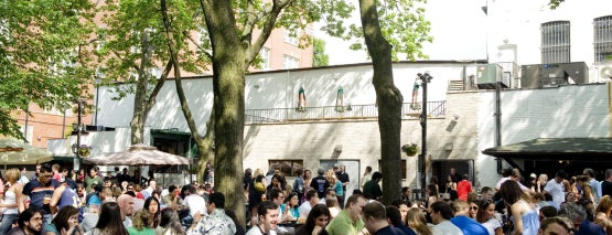 Bohemian Hall & Beer Garden is one of 20 Great Spots for a Summer Beer in NYC.