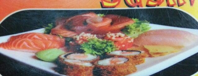 Espaço Sushi is one of Tempat yang Disimpan Isadora.