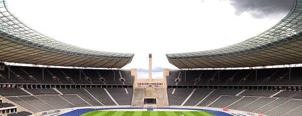 Olympiastadion is one of Berlin.