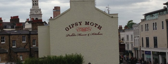 The Gipsy Moth is one of Greenwich and Docklands; London.
