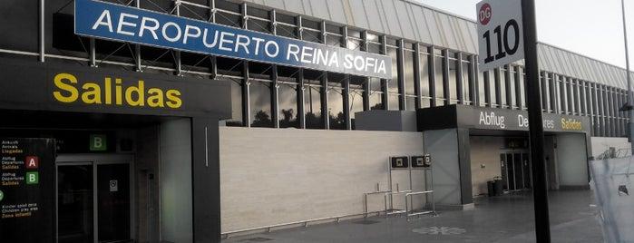 Aeropuerto de Tenerife Sur-Reina Sofía (TFS) is one of Airports Europe.