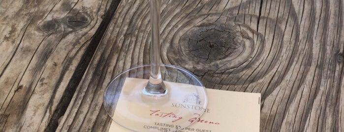 Sunstone Vineyards & Winery is one of Solvang wine.
