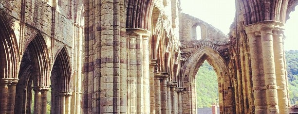 Tintern Abbey is one of Tempat yang Disukai Carl.