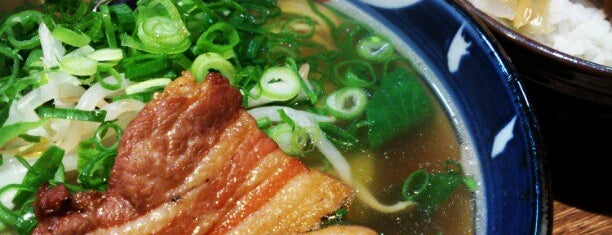 Aoba-ramen Honmamon-ya is one of Lugares favoritos de Fernando.