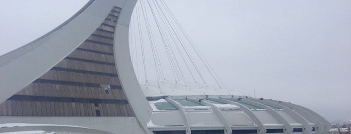 Stade Olympique is one of Montreal.
