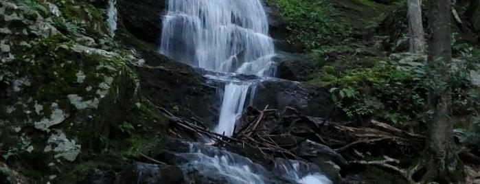 Buttermilk Falls is one of NJ Waterfalls.