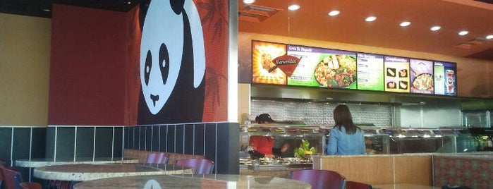 Panda Express is one of Comida.