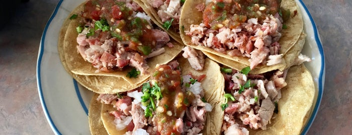 "Carnitas ""La Roca"" is one of Mexicana."