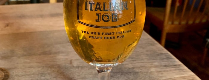 The Italian Job is one of Craft Beer London.